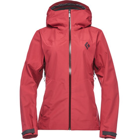 Black Diamond Liquid Point Shell Jacket Women wild rose